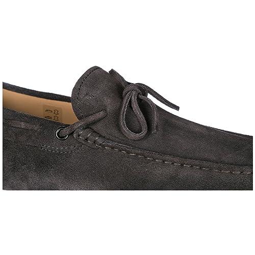 Tods Mocasines EN Ante Hombres Nuevo Gommini 122 Gris: Amazon.es: Zapatos y complementos