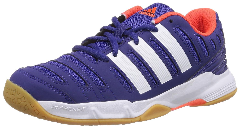 adidas Court Stabil 11 Xj, Unisex Kids' Handball Shoes Purple 5 UK M19125