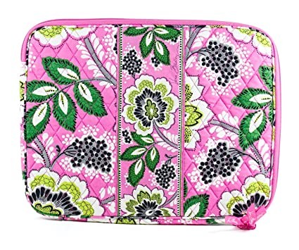 f08b244aa6 Image Unavailable. Image not available for. Color  Vera Bradley Laptop  Sleeve in Priscilla Pink