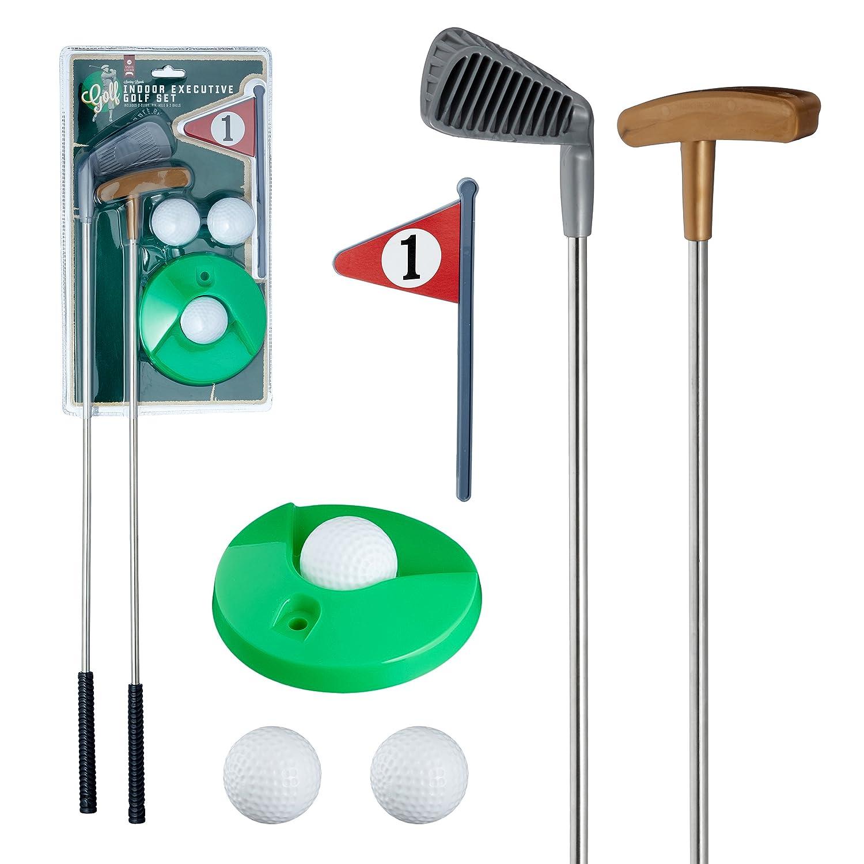 Preis am Stiel ''Golfset'' 6-teilig | Outdoorspielzeug | Golfset Mini | Spiele fü r drauß en | Golfsport | Golfset fü r Mä nner | Geschenkidee fü r Kinder | Outdoor Spiele fü r Kinder | Spielzeug Preis am Stiel®