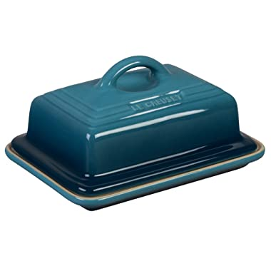 Le Creuset Heritage Stoneware Butter Dish, Marine