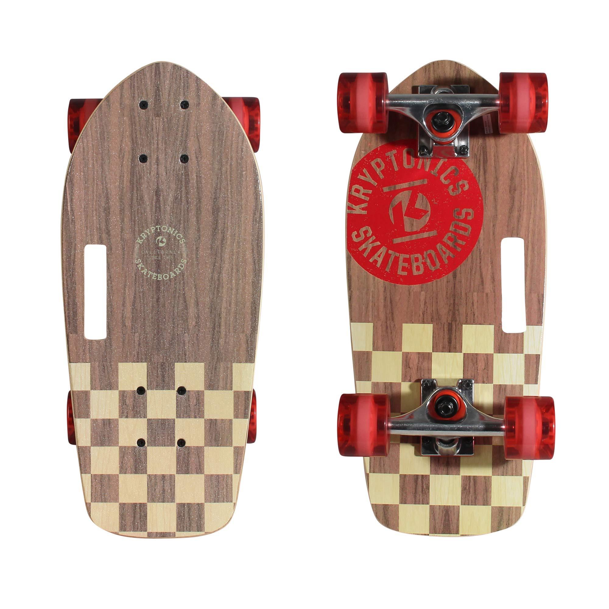 Kryptonics Stubby 19 Inch Complete Skateboard - Cali Authentic