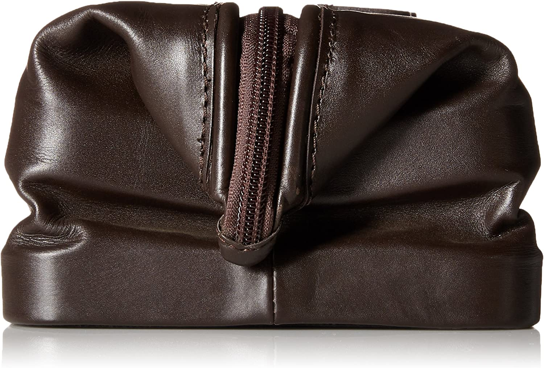 Dopp Mens First Class Leather Seasoned Traveler the Original Kit