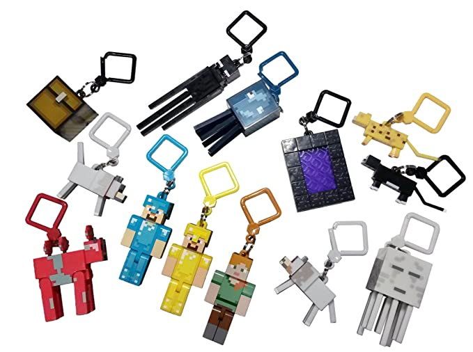 IMC Toys 52000MN1 - 52000MN1 - Sobre Sorpresa Minecraft (Llavero)
