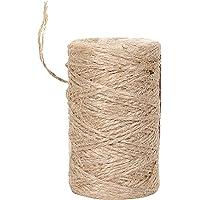328 voeten natuurlijke touw snaren - handgemaakt geschikt voor knutselcadeau kerstduurzaam verpakkingskoord voor…