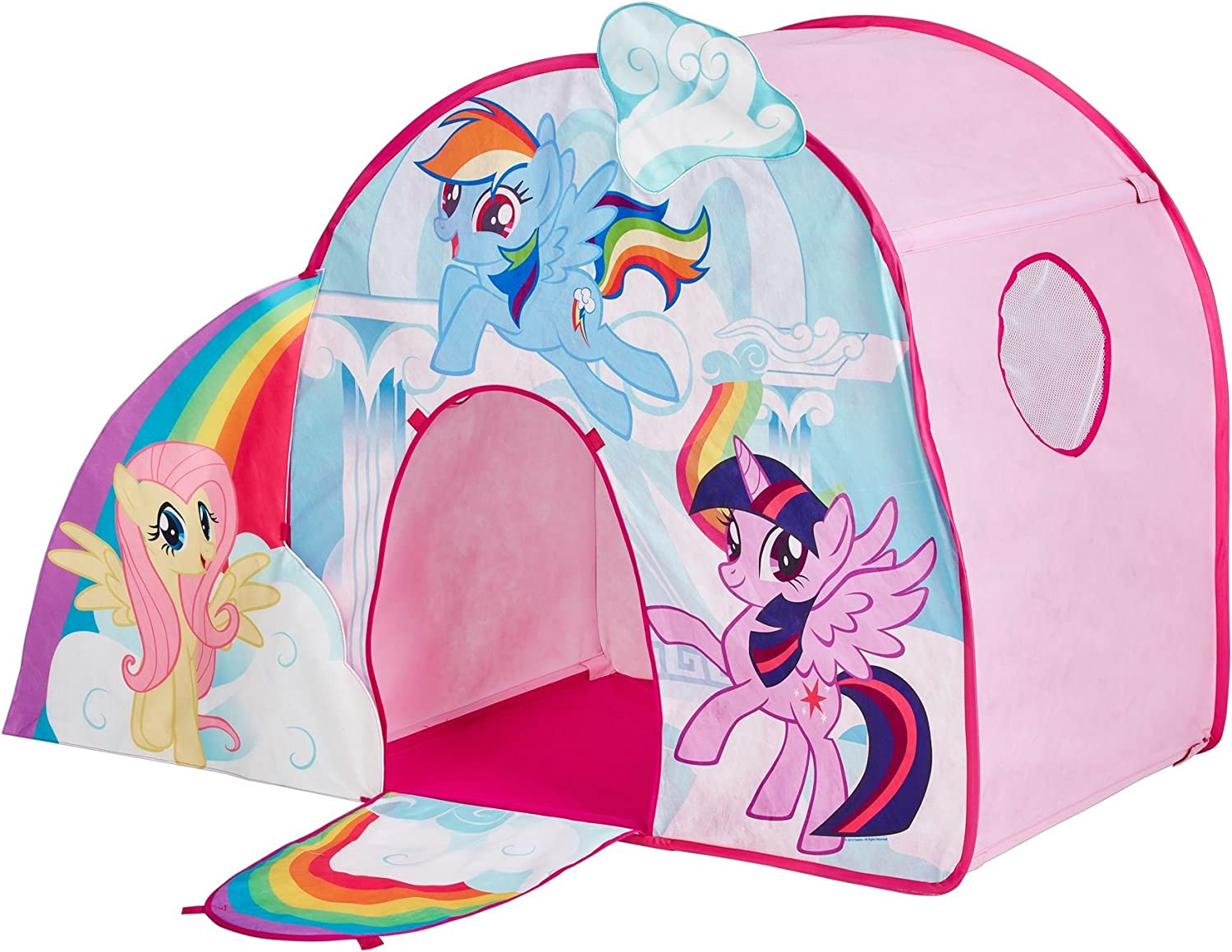 My Little Pony Castle Play Tent Action Figures & Toys