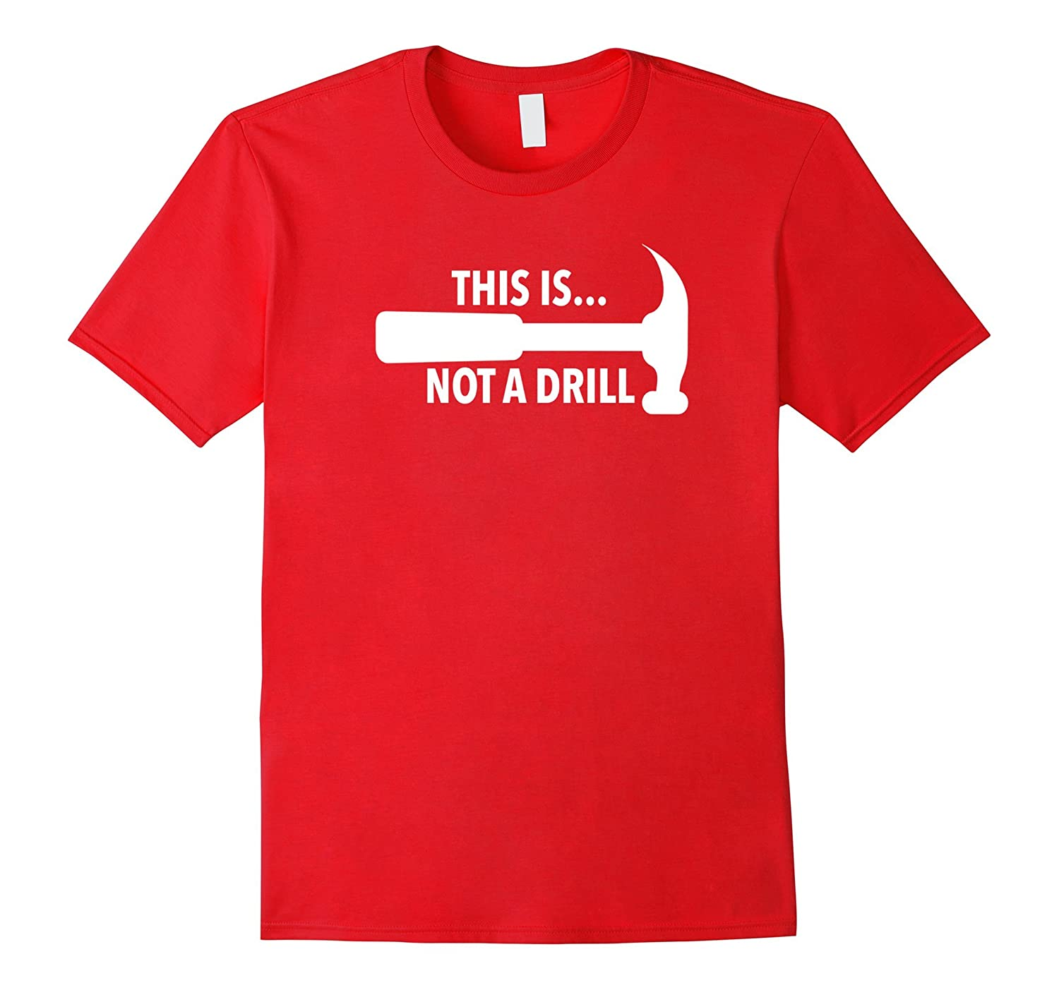 90s Retro This Is Not A Drill Bad Joke T-shirt
