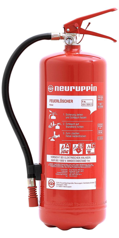 Häufig Neuruppin Feuerlöscher 6kg ABC Pulverlöscher PG 6 Euro-S inkl MU42