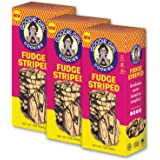 Goodie Girl Cookies, Fudge Striped | Gluten Free | Peanut Free | Kosher | 7oz Boxes, Pack of 3