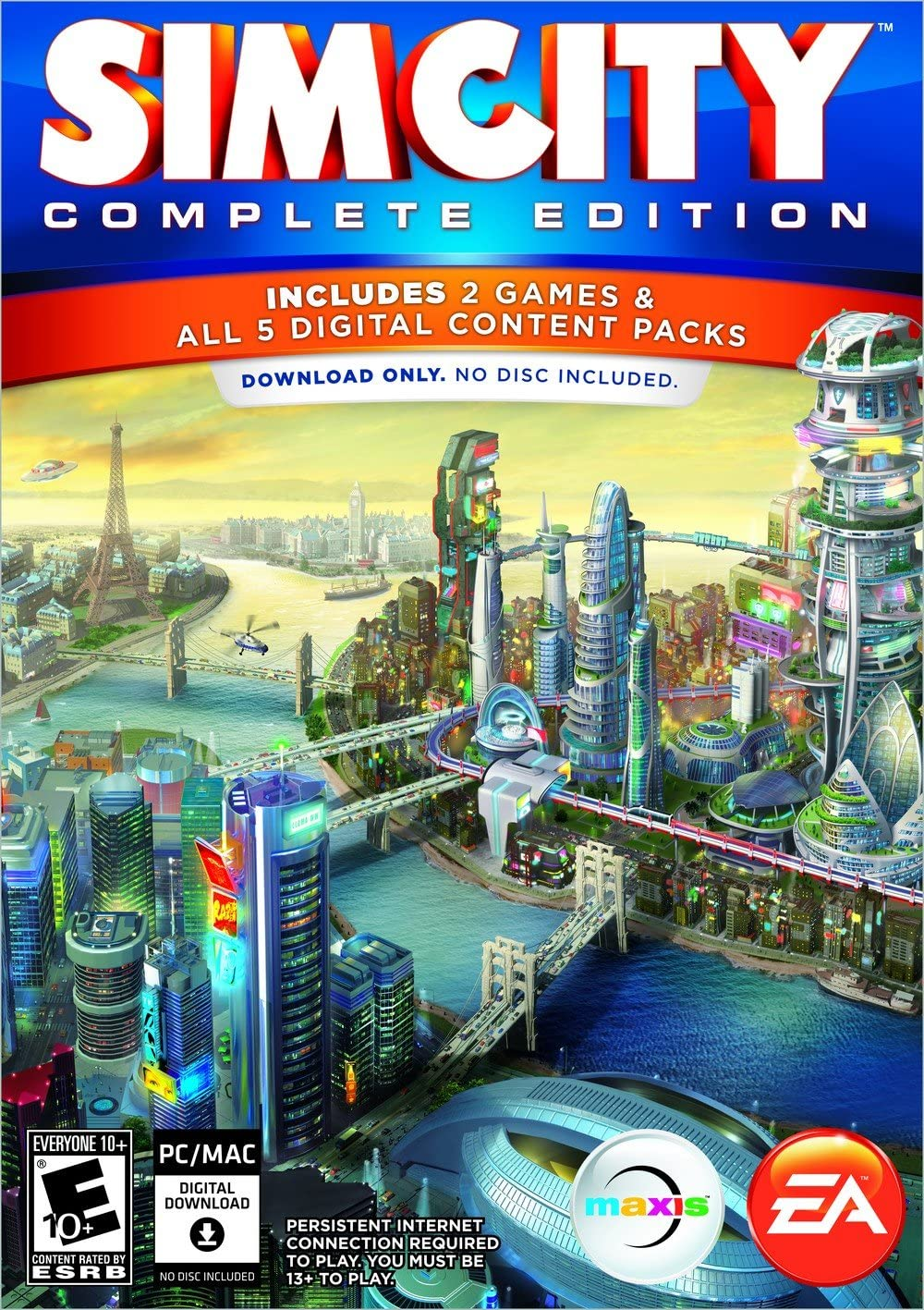 Amazon com: SimCity Complete Edition [Online Game Code