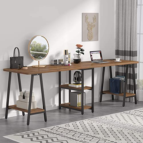 Tribesigns Double Computer Desk