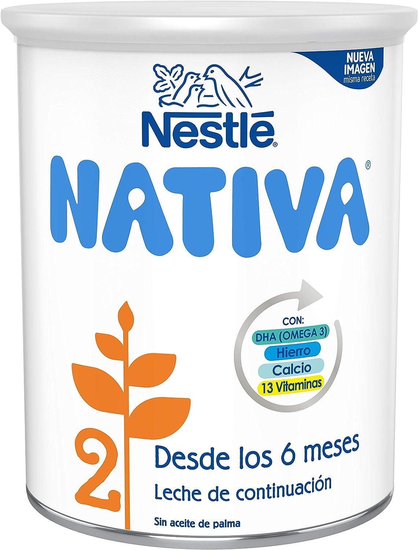 Nestlé Nativa 2 Fórmula para Bebés A Partir de Los 6 Meses ...