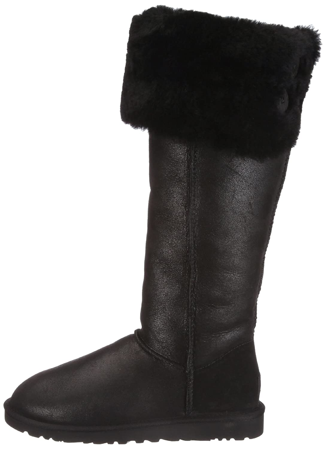 UGG Damen W's Over Knee Bailey Button Stiefel