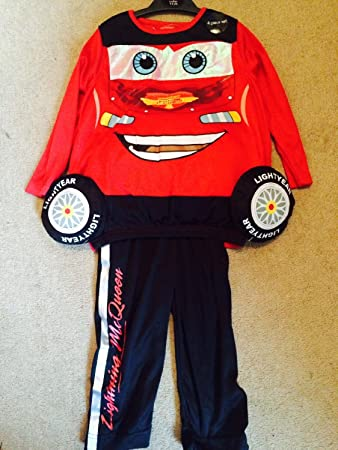 Disney Cars Lightning Mcqueen Costume Age 3-4 Years & Disney Cars Lightning Mcqueen Costume Age 3-4 Years: Amazon.co.uk ...