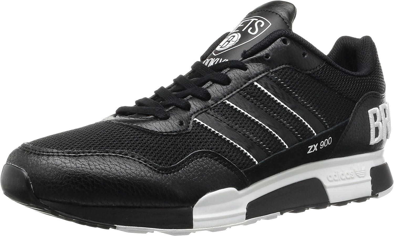 enfermo Caña ventajoso  Adidas Men's - ZX 900 *RARE* Brooklyn Netts - Black White (UK 7.5):  Amazon.co.uk: Shoes & Bags