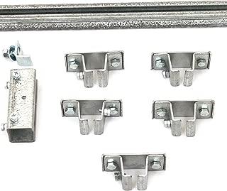 product image for KH Industries FTCT-TK-KIT40 C-Track 40' Festoon Track Kit