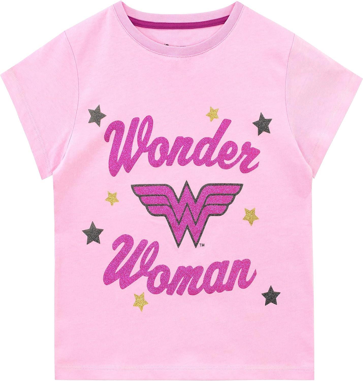 5//6 7 SUPERGIRL in Pink PASTELS Licensed T-Shirt KIDS Sizes 4