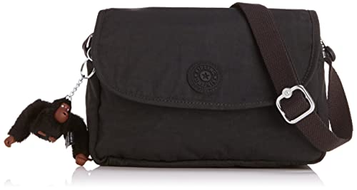 3004abcabc1 Kipling Womens Cayleen Shoulder Bag Black: Amazon.co.uk: Shoes & Bags