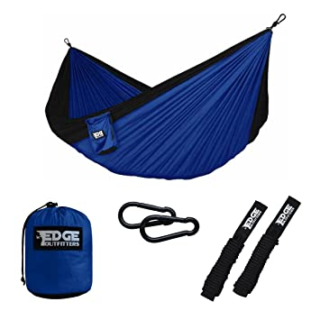 Medium image of double camping hammock   heavy duty portable double hammock with tree friendly straps  u2013 best lightweight