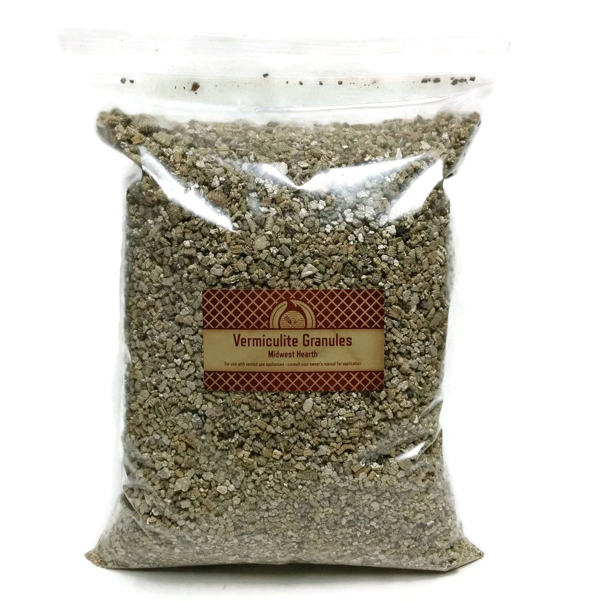 Midwest Hearth Vermiculite Granules for Gas Logs - 12 oz Bag by Midwest Hearth