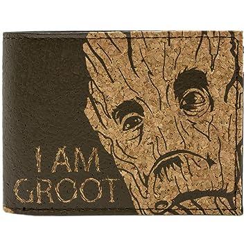 21b81aec2a9 Marvel Studios Guardians Of The Galaxy I am Groot Braun Portemonnaie  Geldbörse
