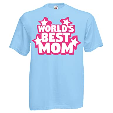 d8d70ade World's Best Mom T-shirt Planet's Greatest Woman Mother's Day Mama's Boy  Superwoman: Amazon.co.uk: Clothing