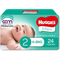 Huggies Infant Nappies Size 2 (4-8kg) 24 Count