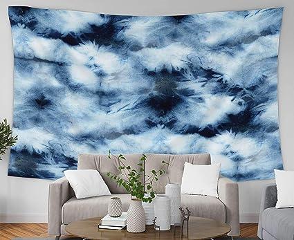 Amazon com: Crannel Psychedelic Tapestry, Tie Dye Pattern
