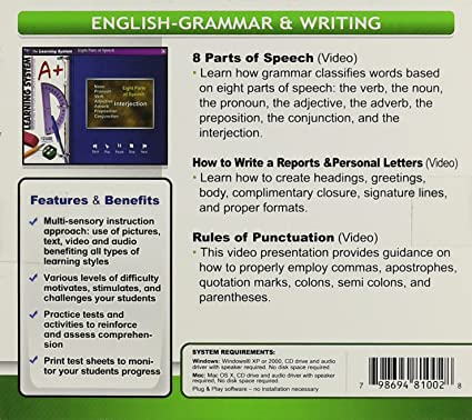 Amazon.com: Fogware Elementary School English - Grammar & Writing ...