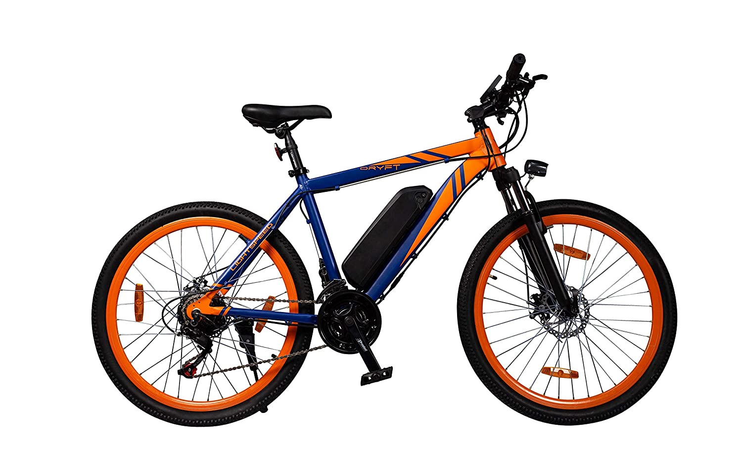 43fd6898f85 LightSpeed Dryft (2019)— Your Futuristic Electric Bicycle | All New  Lightweight ALUMINIUM ALLOY Frame| A Multi-Utility Bike with Pedal Boost  and Twist ...