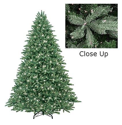 GE 7.5' Pre-Lit Just Cut Frasier Fir Full Artificial Christmas Tree - Cle - Amazon.com: GE 7.5' Pre-Lit Just Cut Frasier Fir Full Artificial
