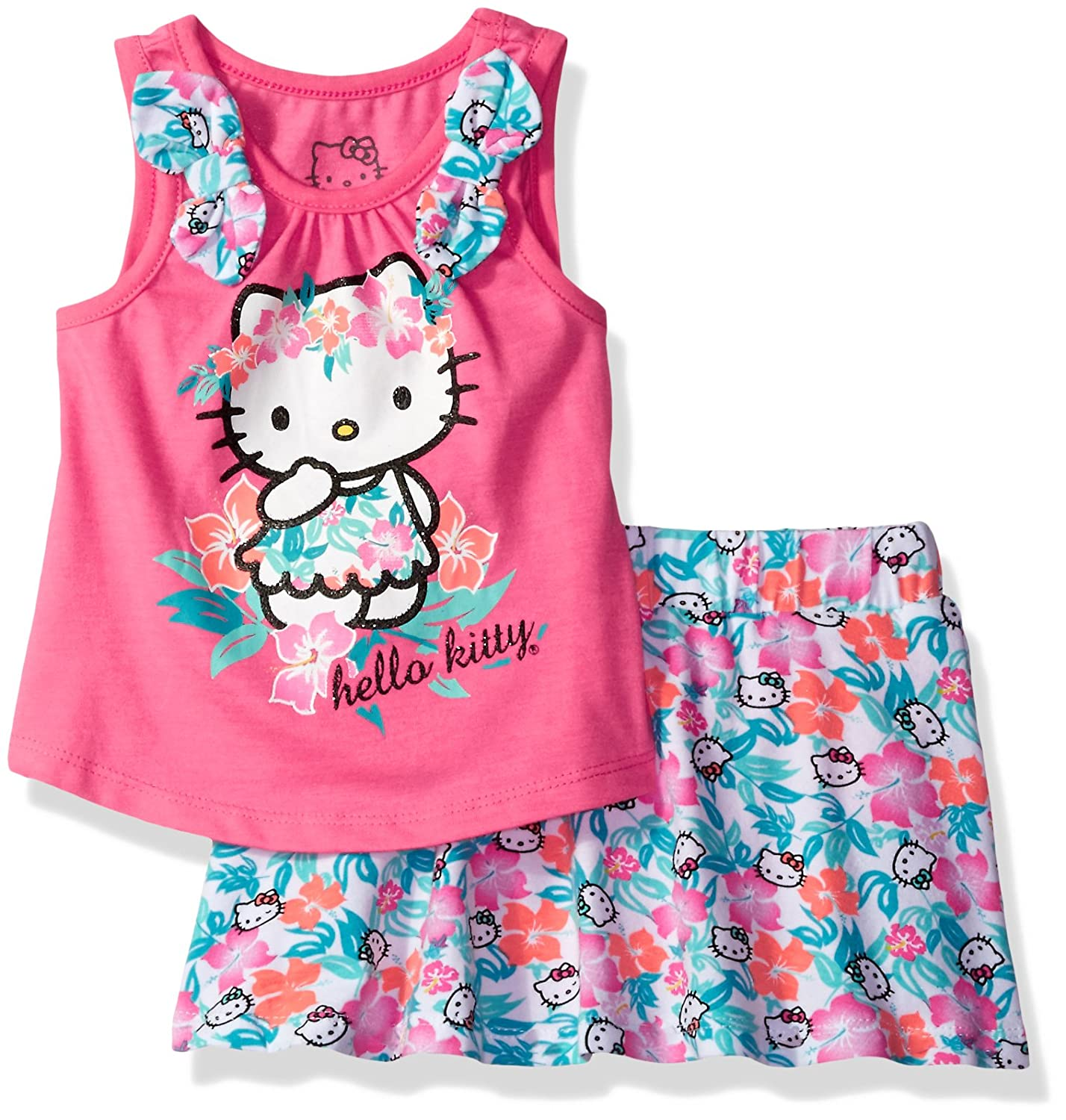 Hello Kitty Girls' Skirt Set K3162