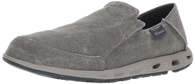 Amazon.com   Columbia Men's Sunvent Slip Moccasin, Quarry, Deep Rust, 7  Regular US   Sport Sandals & Slides