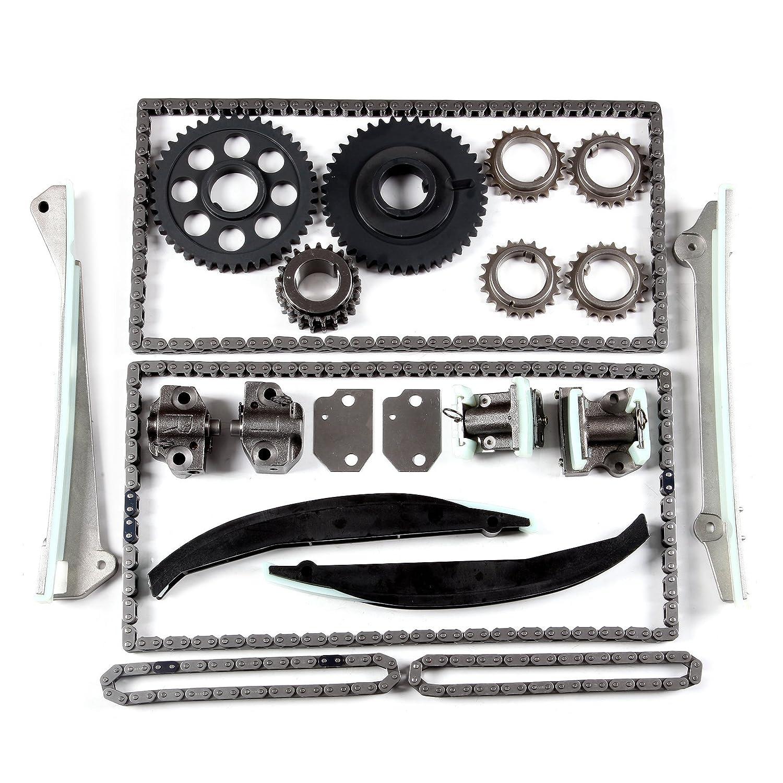 ECCPP Timing Chain Kit W/Gears for Lincoln Navigator Blackwood 5.4L DOHC V8 32V 053958-5211-1646331