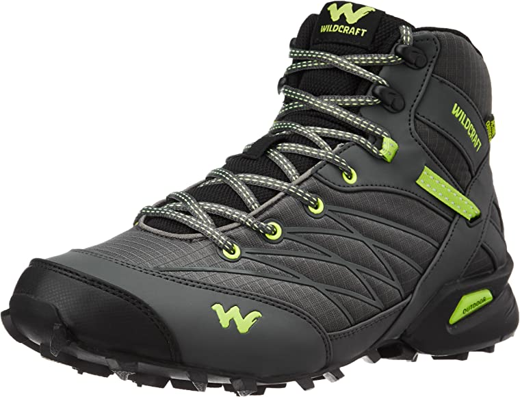 Green Trail Running Shoes