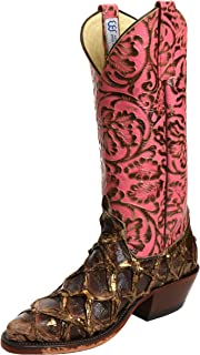 product image for Anderson Bean 4241M Bronze Big Bass Pepto Antique Tooled Boots
