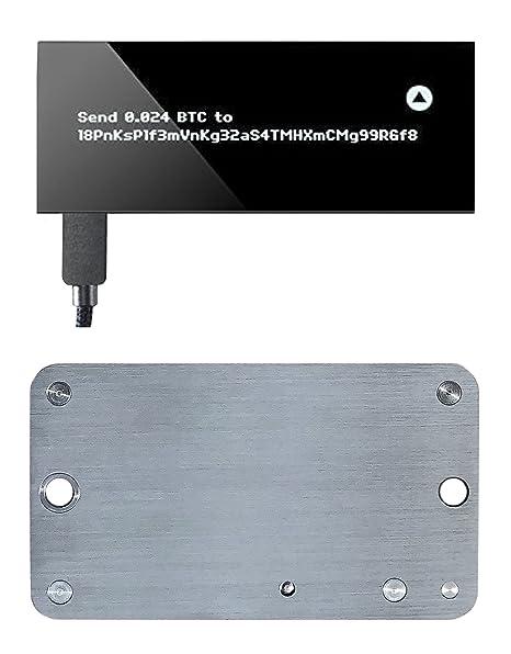 KeepKey - Cartera de criptomonedas y Cartera de Acero Indestructible para Llaves privadas (2 Unidades)