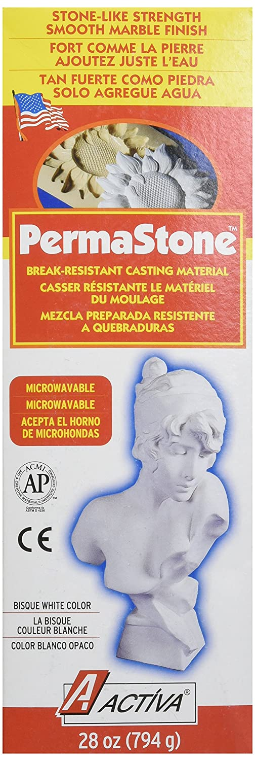 ACTIVA Permastone Casting Compound - 28 Ounces Activa Products Inc. 350