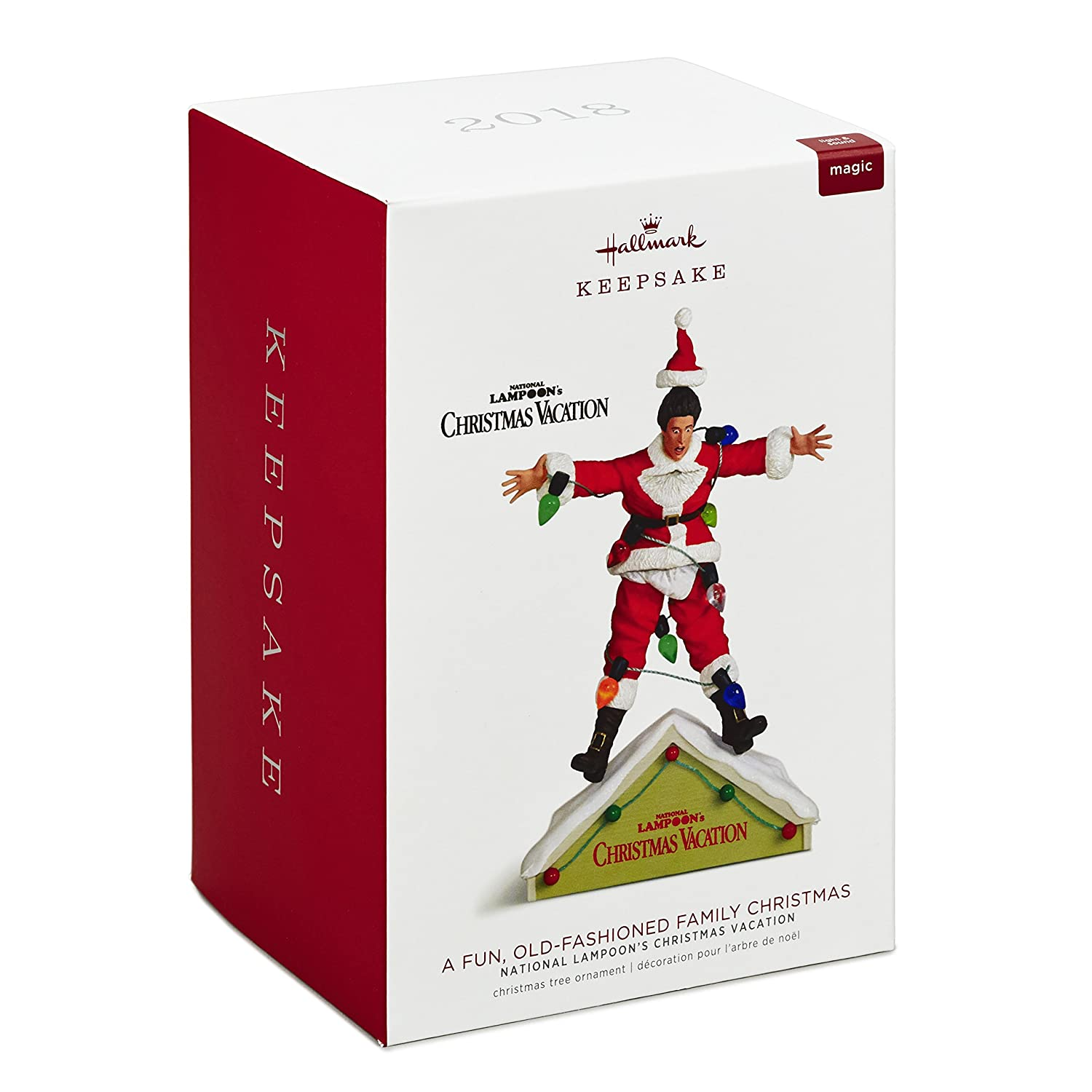 Amazon.com: Hallmark Keepsake Christmas Ornament 2018 Year Dated ...