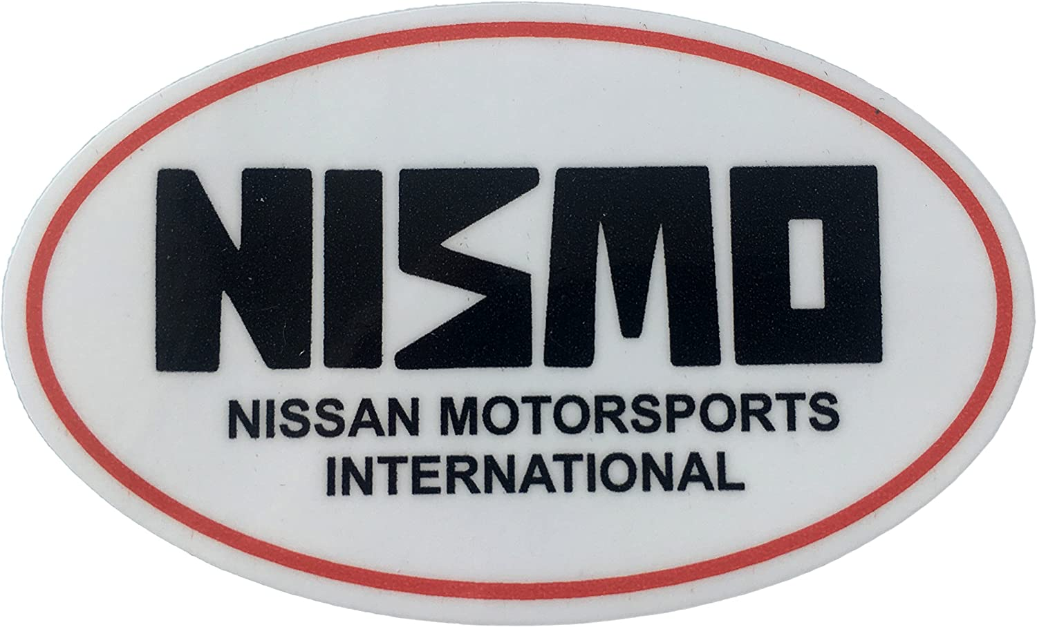 Printed on Orafol Long Lasting Waterproof Vinyl Sticker Nismo Nissan Motorsports International Racing Automotive car Deal Remove Without Residue. Perfect for Nissan /& Japanese Domestic Market JDM