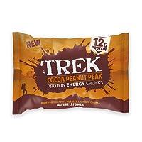 Cocoa Peanut Kick - Trek Protein Energy Chunks 60g - Gluten & Wheat Free (Pack of 14)