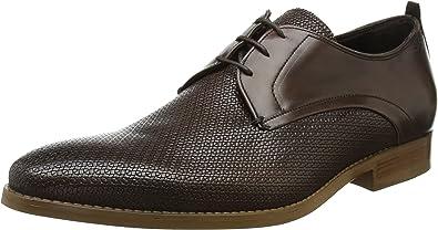 TALLA 43 EU. Bertie Professor, Zapatos de Cordones Derby para Hombre