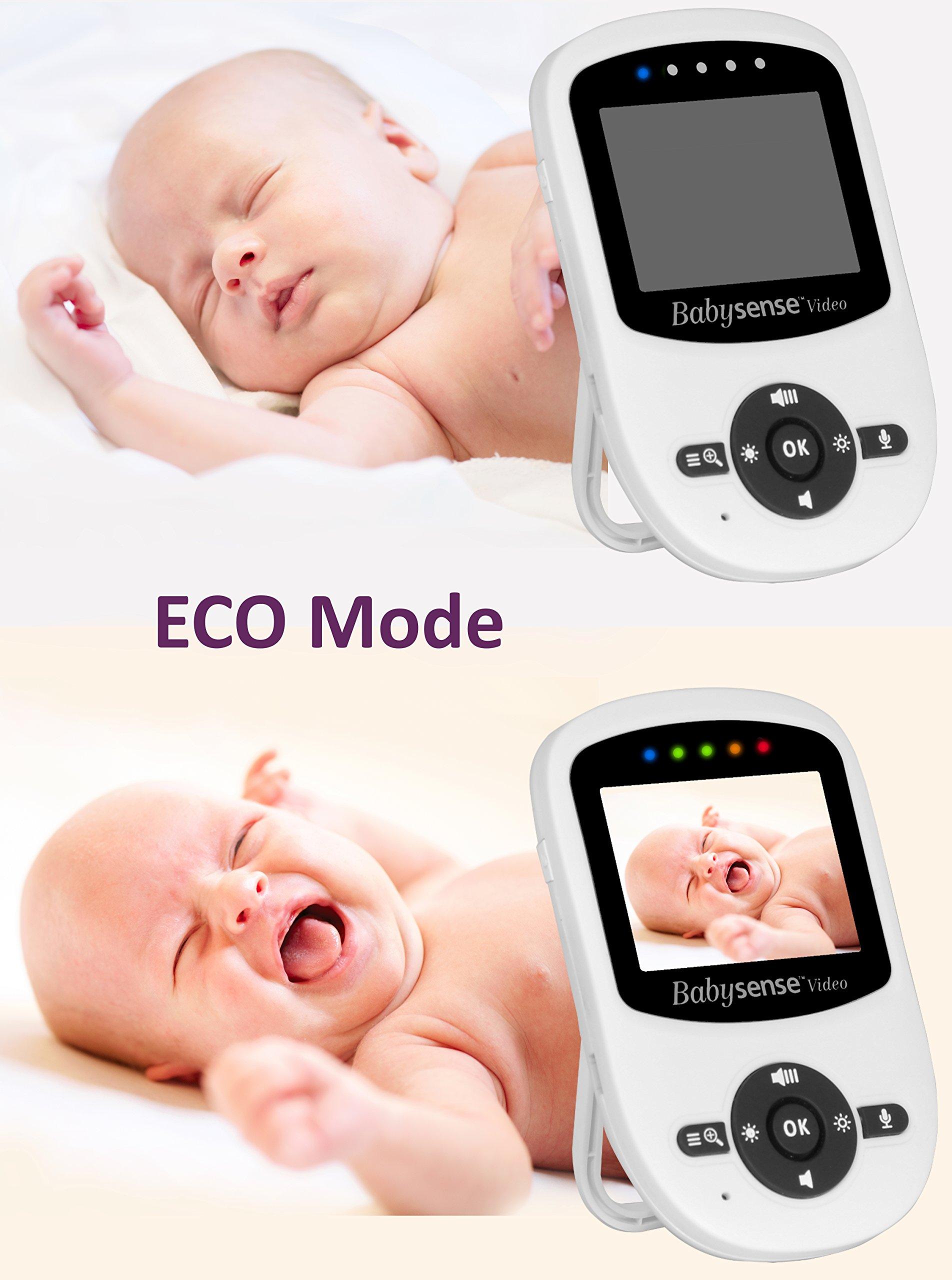 New Model: Babysense Video + Baby Movement Monitor - Bundle Pack: Babysense Video Baby Monitor with Babysense 7 Under-The-Mattress Baby Movement Monitor - 2 in 1 by Babysense (Image #6)