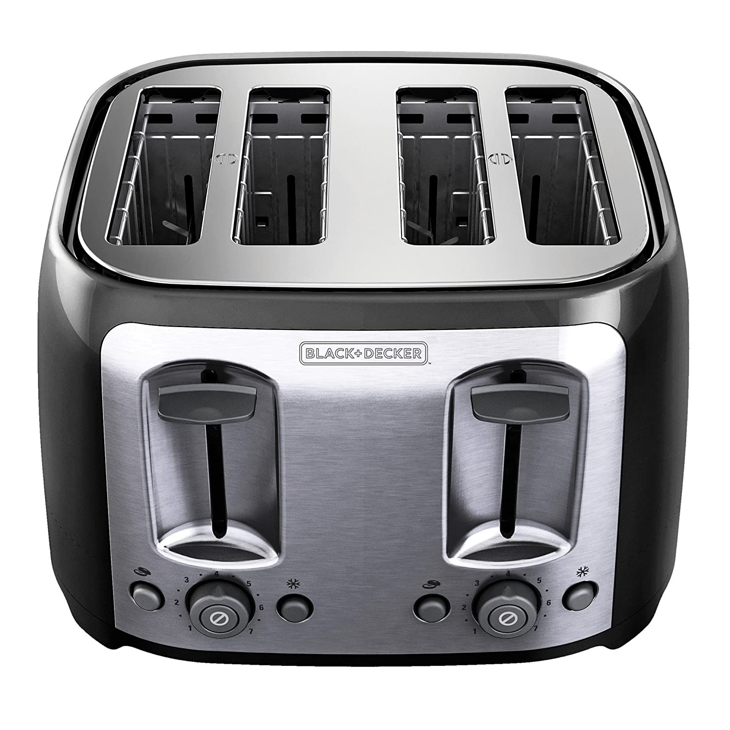 Quilted Kitchen Appliance Covers Amazoncom Black Decker Tr1478bd 4 Slice Toaster Bagel Toaster