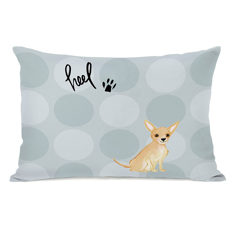 One Bella Casa 74581PL42 Pillow Gray//Multicolored