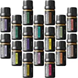 Onepure Aromatherapy Essential Oils Gift Set, 6 Bottles/ 10ml each, 100% Pure & Therapeutic Grade ( Lavender, Tea Tree, Eucalyptus, Lemongrass, Sweet Orange, Peppermint)