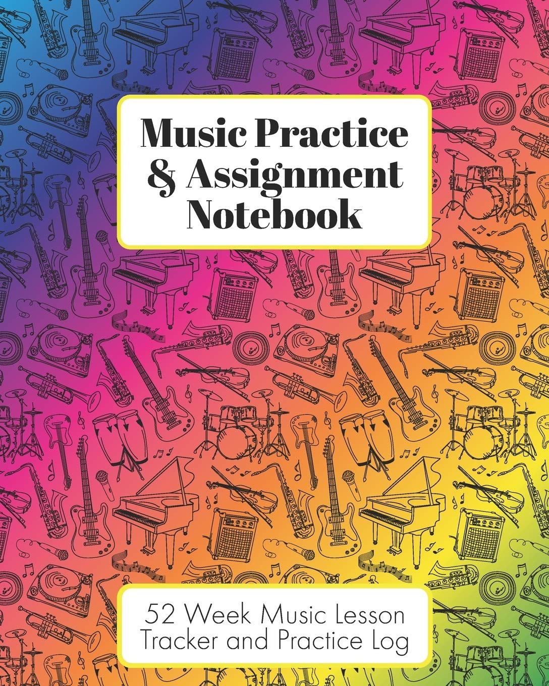 Blue MY MUSIC JOT-A-NOTE Practice Notebook