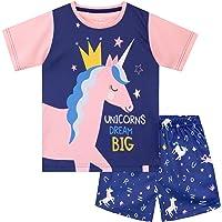 Harry Bear Pijamas Corto para Niñas Unicornio
