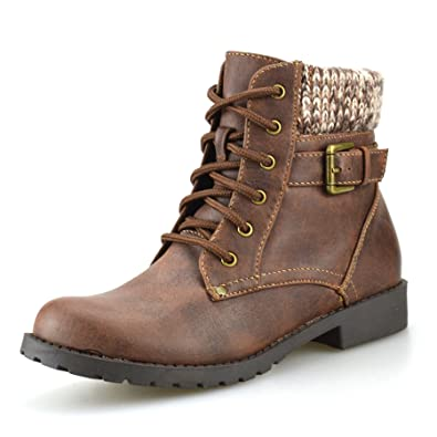 AM Eagle Boys Kids Girls New Casual Biker Style Zip Buckle Lace Up Ankle  Boots Shoes