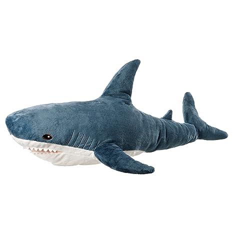 Amazon Com Ikea Blahaj 402 980 27 Soft Toy Shark 39 25 Inch